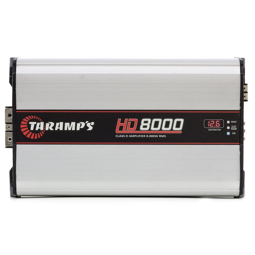 Modulo Amplificador Taramps 1 Canal Hd-8000 wrms 1 Ohms Digital
