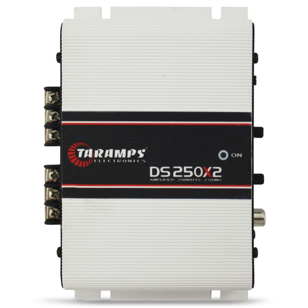Modulo Amplificador Taramps 250 Rms DS-250X2 Stereo Digital 2 Canais 2 Ohms Classe D Crossover Full Range