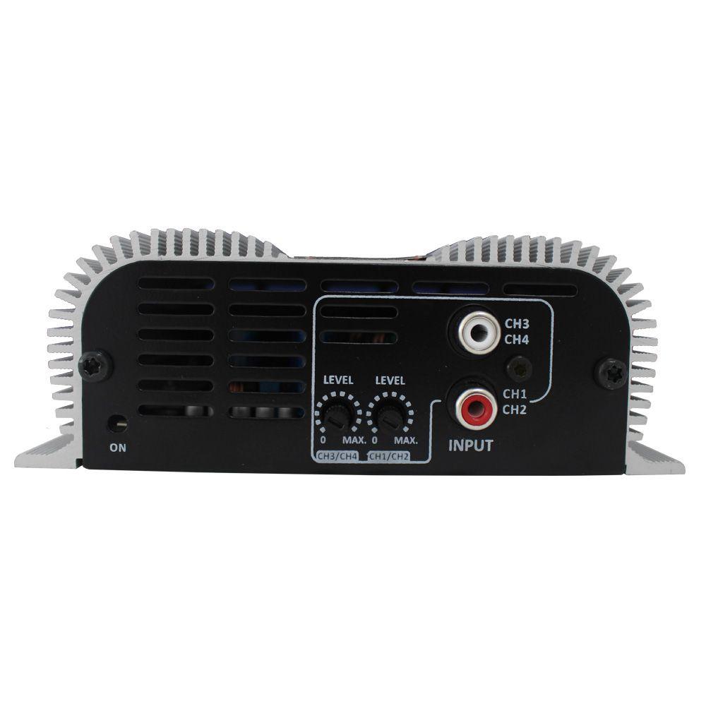 Modulo Amplificador Taramps 280 Rms DS-280X4 Stereo Digital 4 Canais 2 Ohms Classe D Rca Full Range
