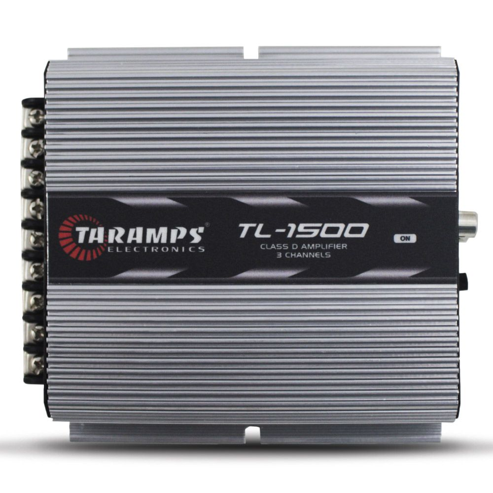 Modulo Amplificador Taramps 390 Rms TL-1500 Mono Stereo Digital 3 Canais 2 Ohms 4 Ohms Classe D Fio Bass Boost