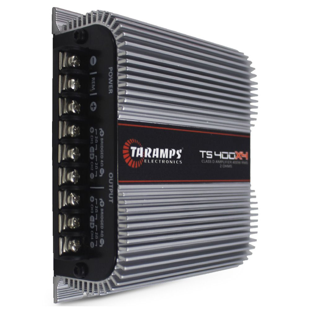 Modulo Amplificador Taramps 400 Rms TS-400X4 Stereo Digital 4 Canais 2 Ohms Classe D Crossover Full Range