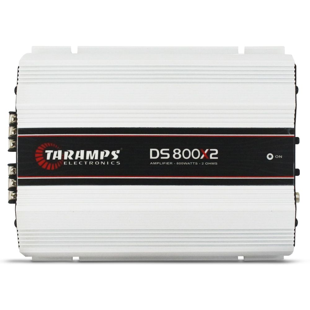 Modulo Amplificador Taramps 800 Rms DS-800X2 Stereo Digital 2 Canais 2 Ohms Classe D Crossover Full Range
