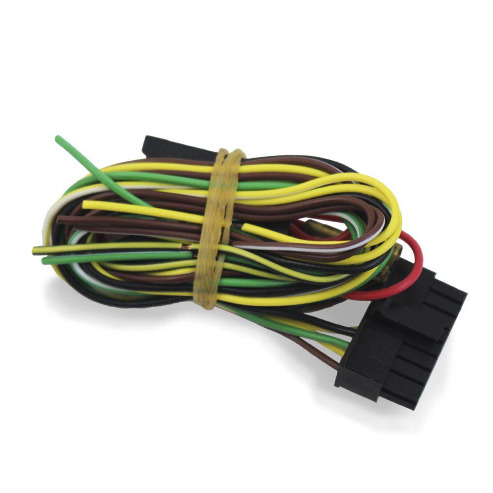 Modulo Rebatimento Retrovisor Elétrico Universal Quantum QAP1000 Tilt Down Inclinação Ré 3 Fios