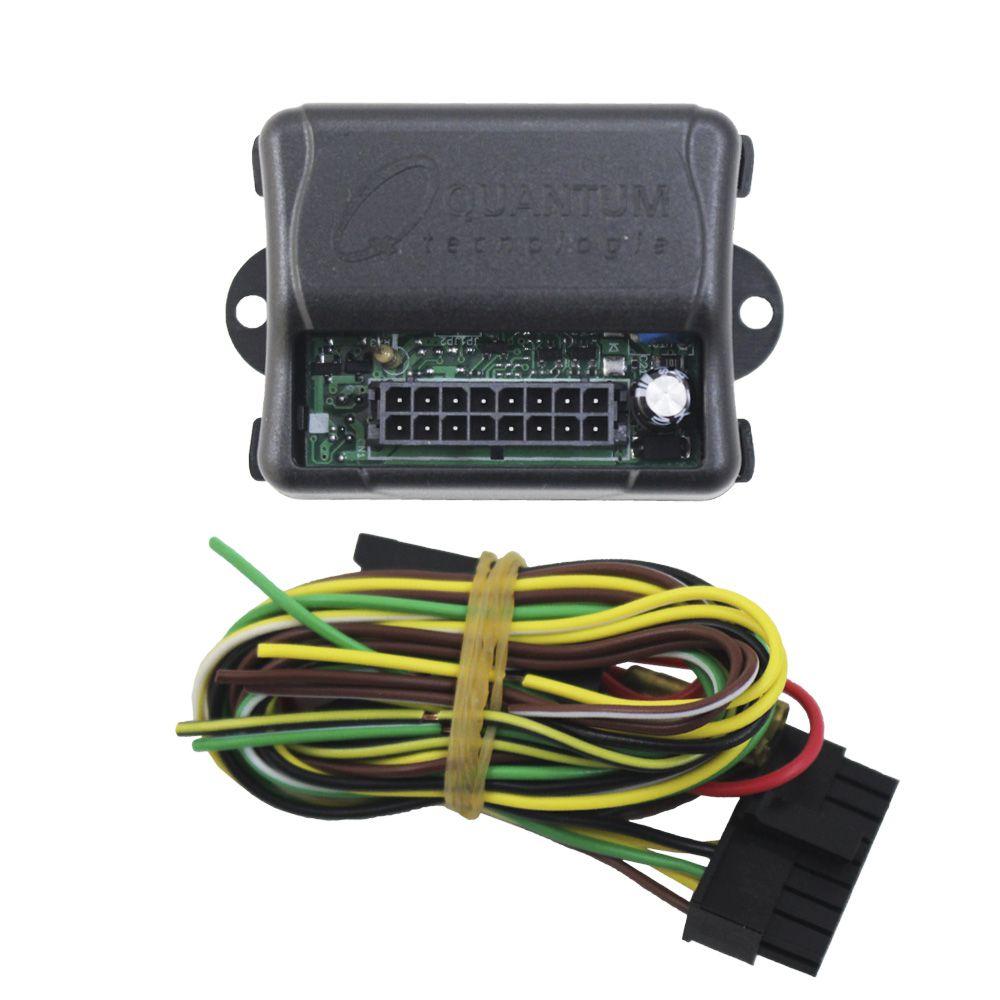 Módulo Retrovisor Elétrico Quantum QAP1000 Tilt Down