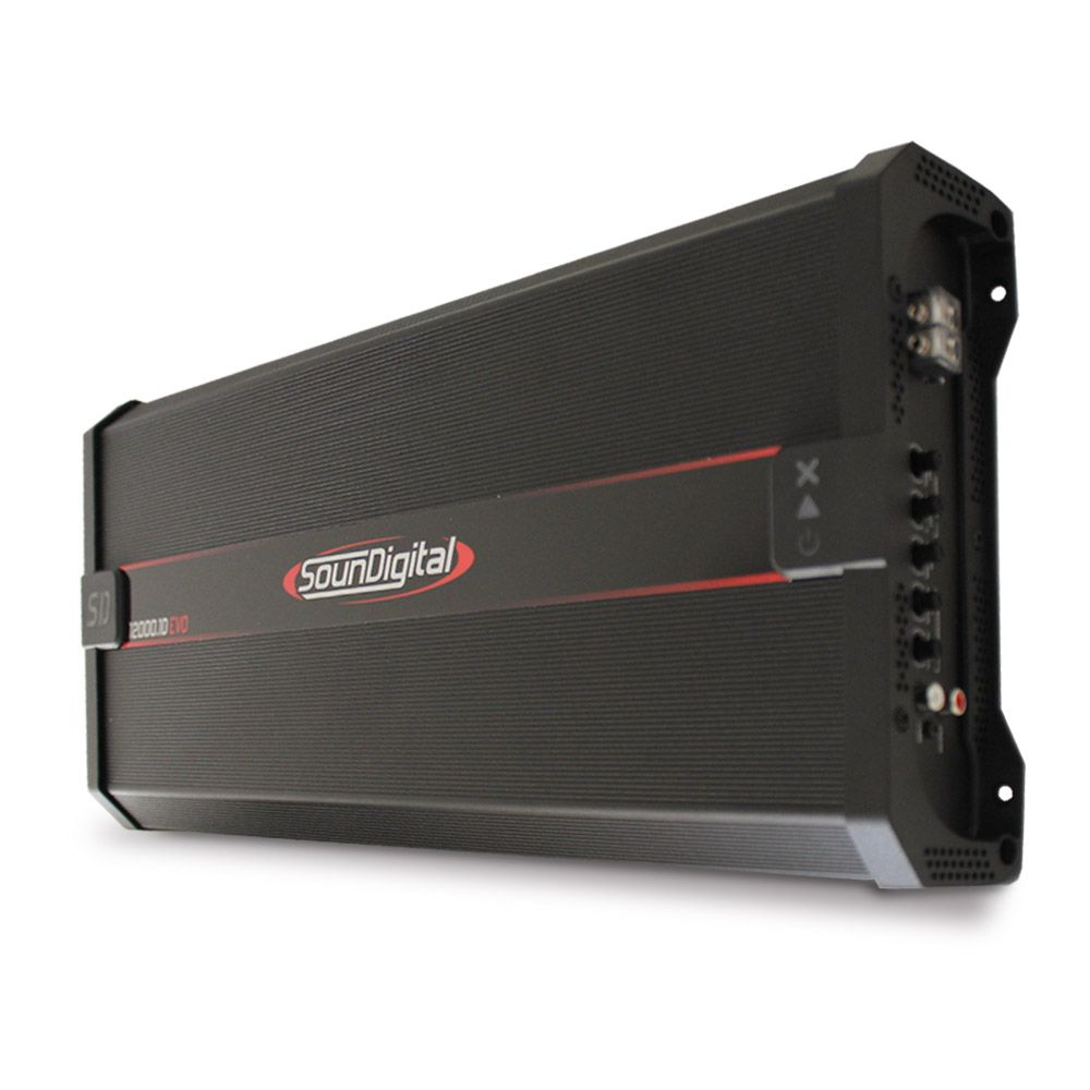 Módulo Soundigital 12000 rms SD-12000.1D Evo 2 Mono