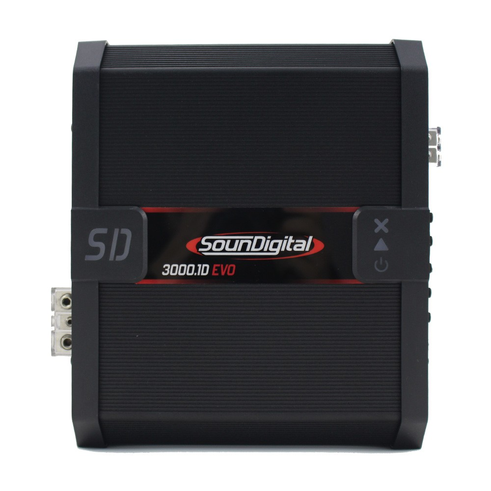 Módulo Soundigital 3000 Rms SD-3000.1D Evo 2 Mono Digital