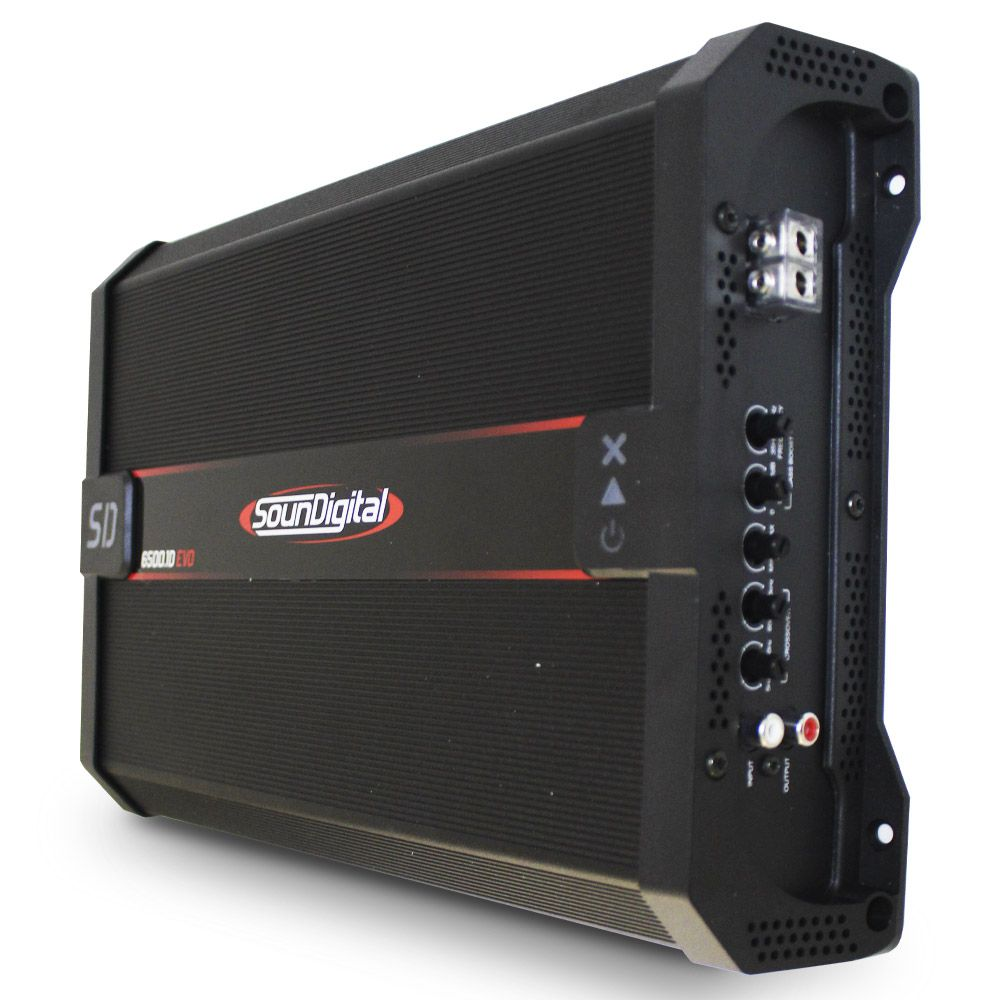 Módulo Soundigital 6500 Rms SD-6500.1D Evo 2 Mono Digital