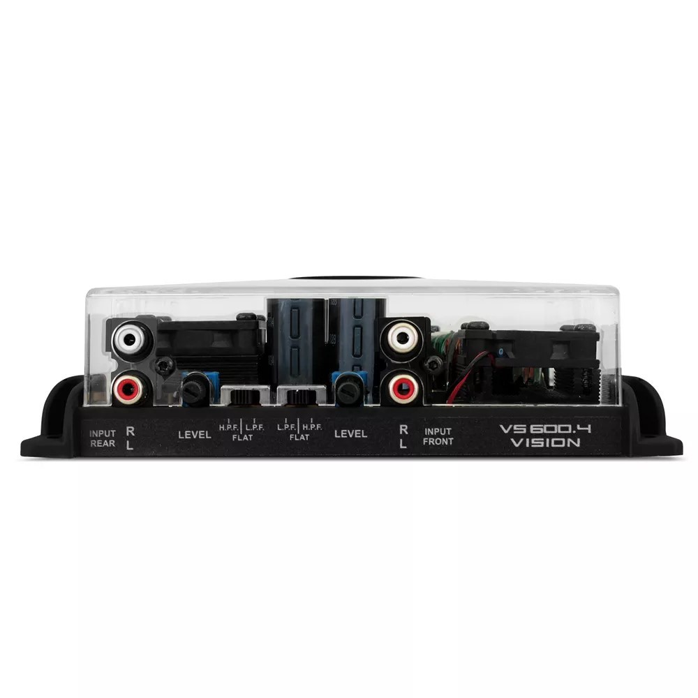 Módulo Stetsom 600 Rms VS-600.4 Stereo Digital 4 Canais