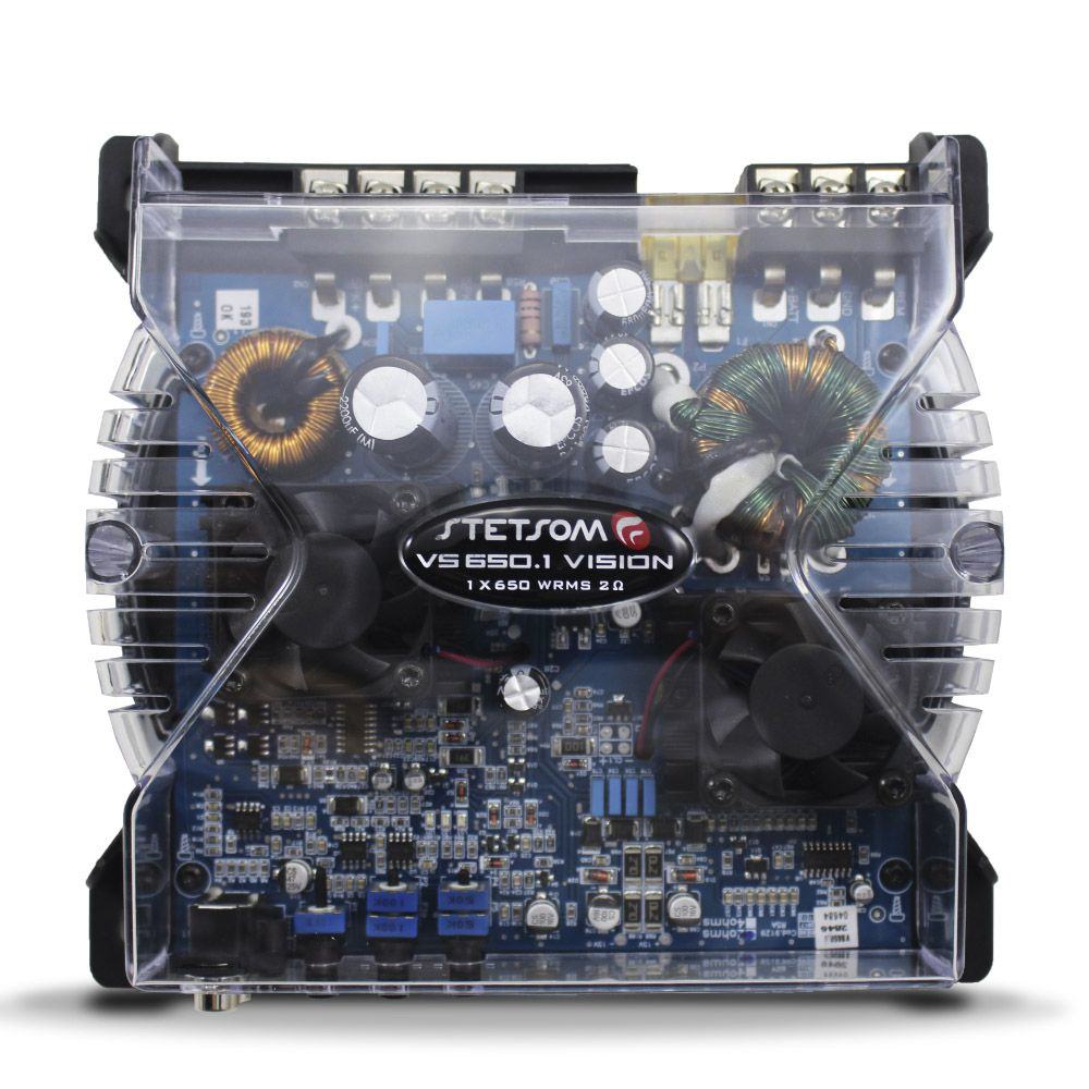 Módulo Stetsom 650 Rms VS-650.1 Mono Digital 1 Canal
