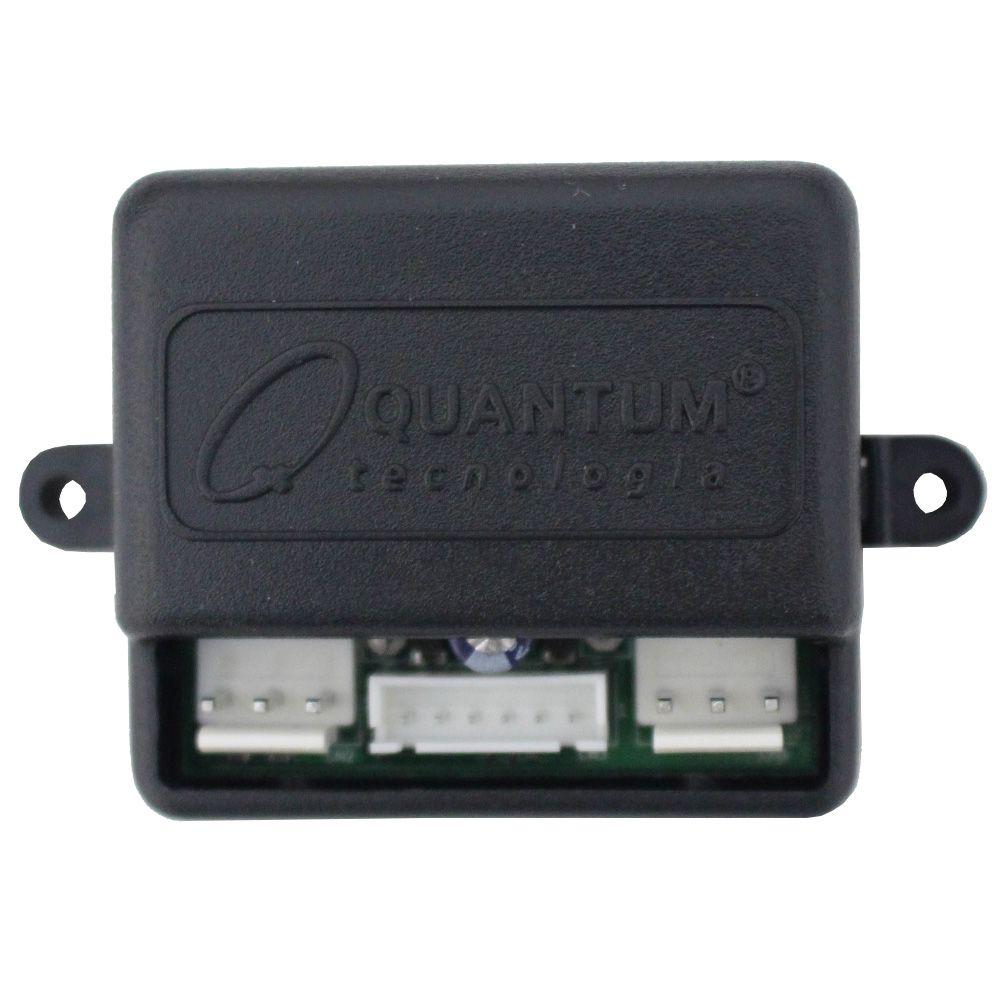 Modulo Subida Vidro Elétrico 2 Portas Universal Quantum QA-103 Descida Teto Solar Rebatimento Retrovisor Acende Faróis