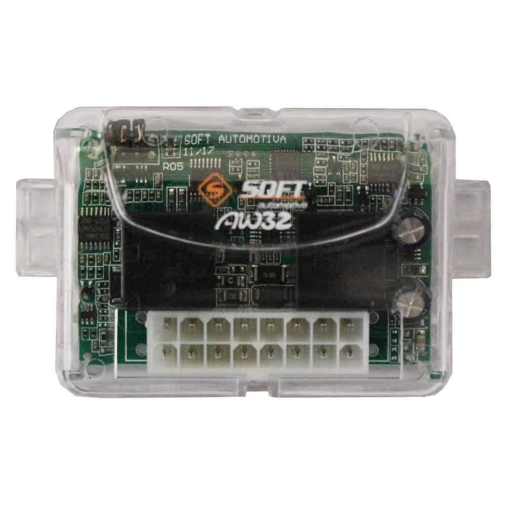 Modulo Subida Vidro Elétrico 2 Portas Universal Soft AW-32 Antiesmagamento Descida