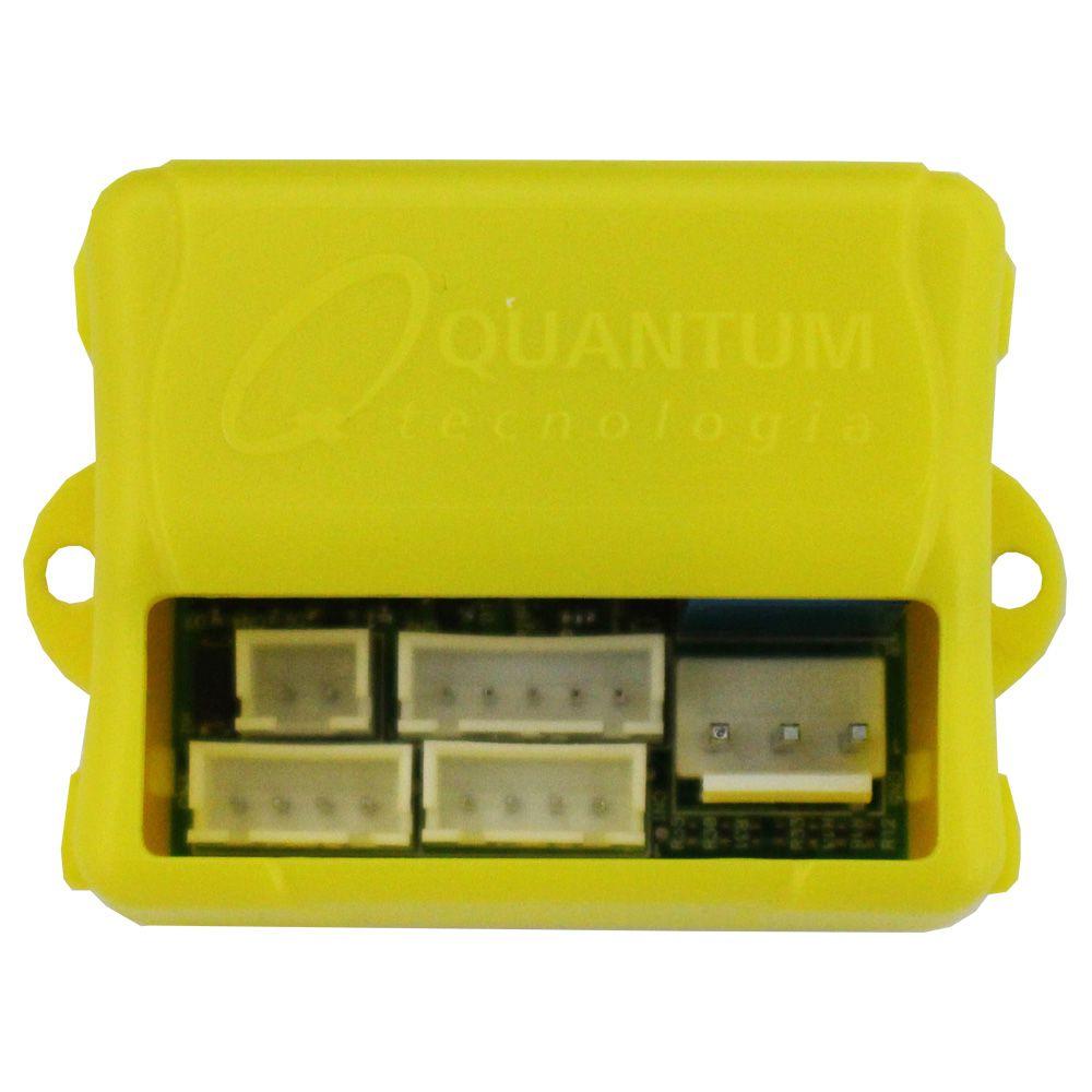 Modulo Subida Vidro Elétrico 4 Portas Universal Quantum LV-500 Antiesmagamento Descida Teto Solar