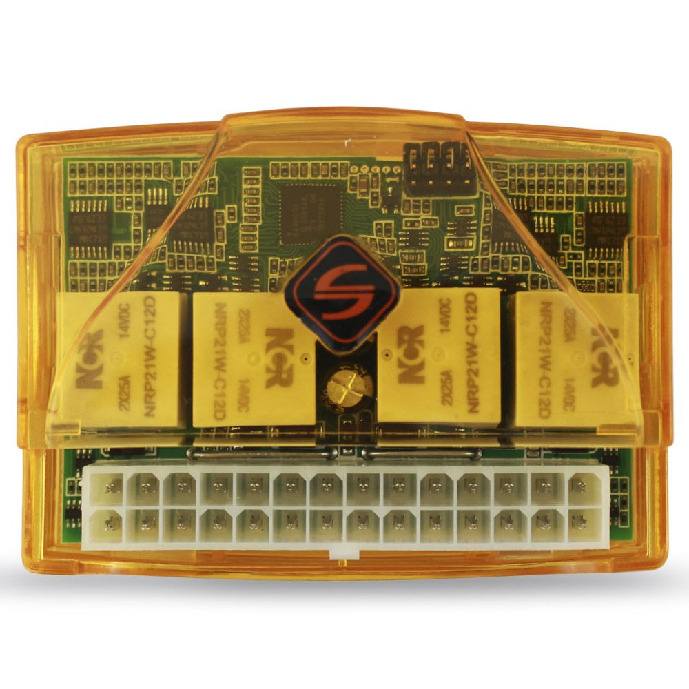 Modulo Subida Vidro Elétrico 4 Portas Universal Soft AW-44 Antiesmagamento Descida