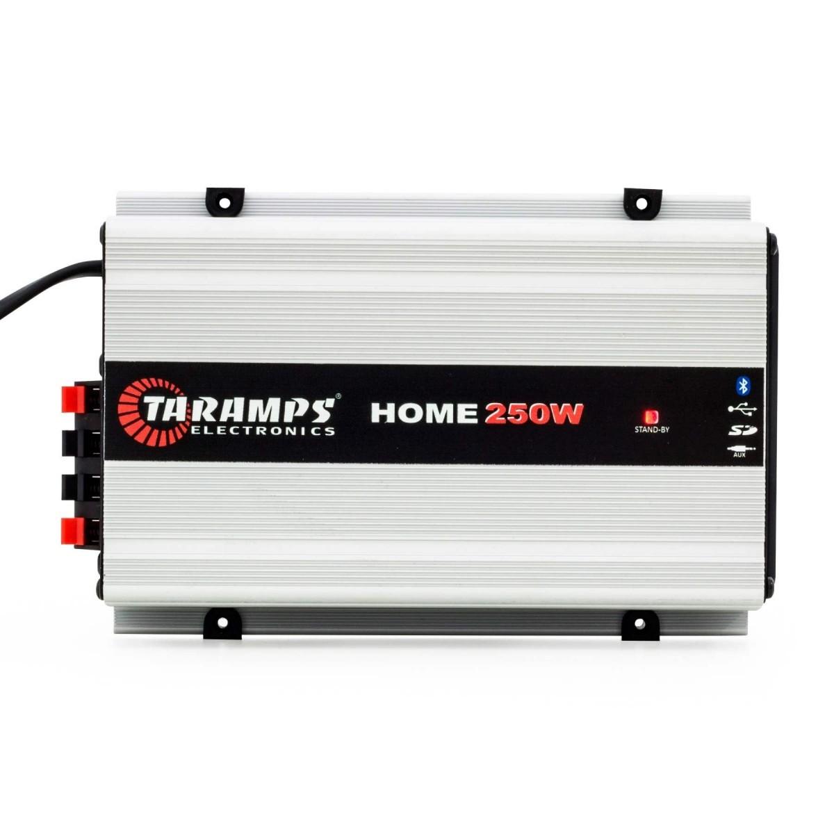 Modulo Taramps 250 rms HOME250 2 Canais Bluetooth Bivolt
