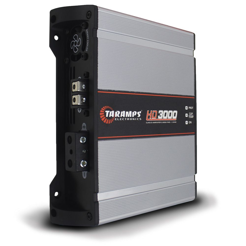 Modulo Taramps 3000 Rms HD-3000 Mono Digital 1 Canal