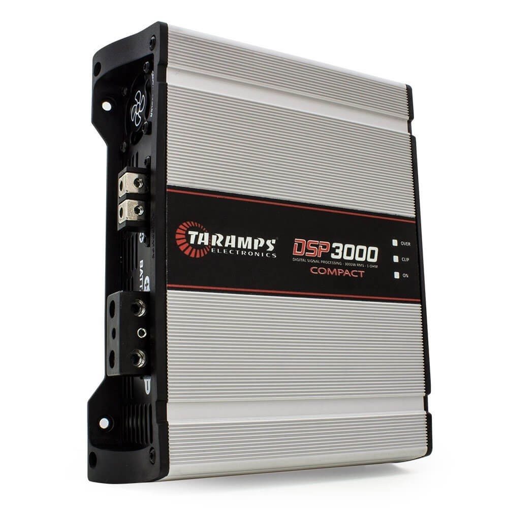 Modulo Taramps 3000 Rms Dsp-3000 Compact Mono Digital