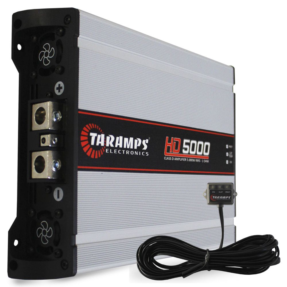 Modulo Taramps 5000 Rms HD-5000 Mono Digital 1 Canal