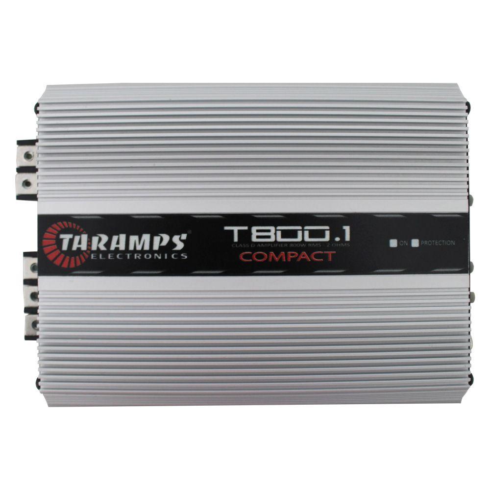 Módulo Taramps 800 rms T800.1 1 Canal Digital 2 Ohms
