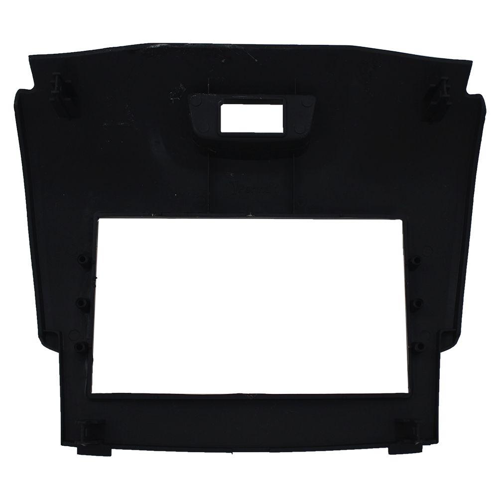 Moldura Painel 2 Din S10 Trail Blazer Black Piano 12 a 15