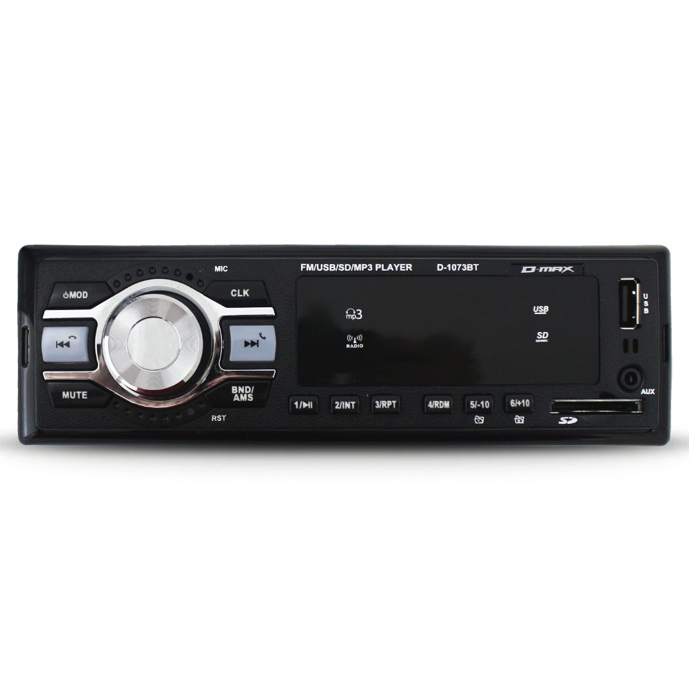Mp3 Player Automotivo D-Max Bluetooth Usb Som Toca Fm