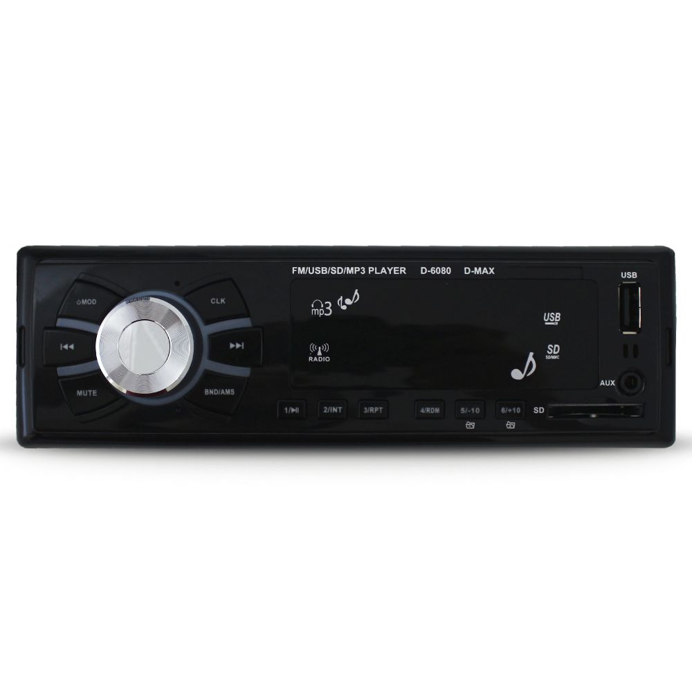 Mp3 Player Automotivo D-Max Usb Sd Fm Controle Remoto