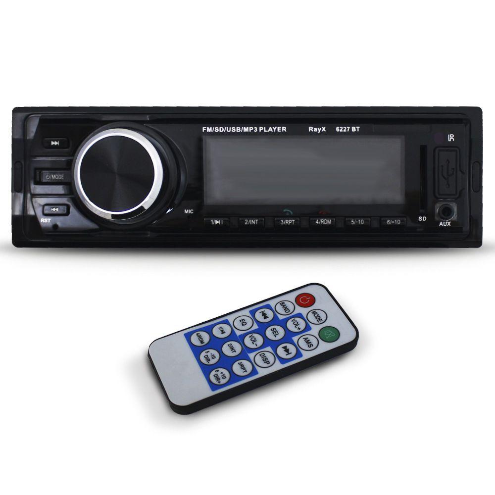 Mp3 Player Automotivo Ray X BT-6227 Bluetooth Usb Sd