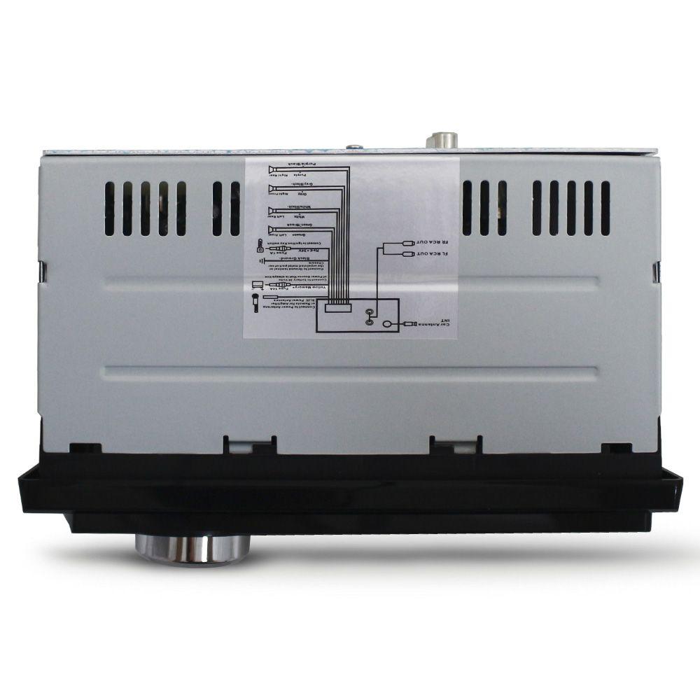 Mp3 Player Automotivo Ray X BT-6227 Bluetooth Usb Sd Aux Rádio Fm Rca Equalizador