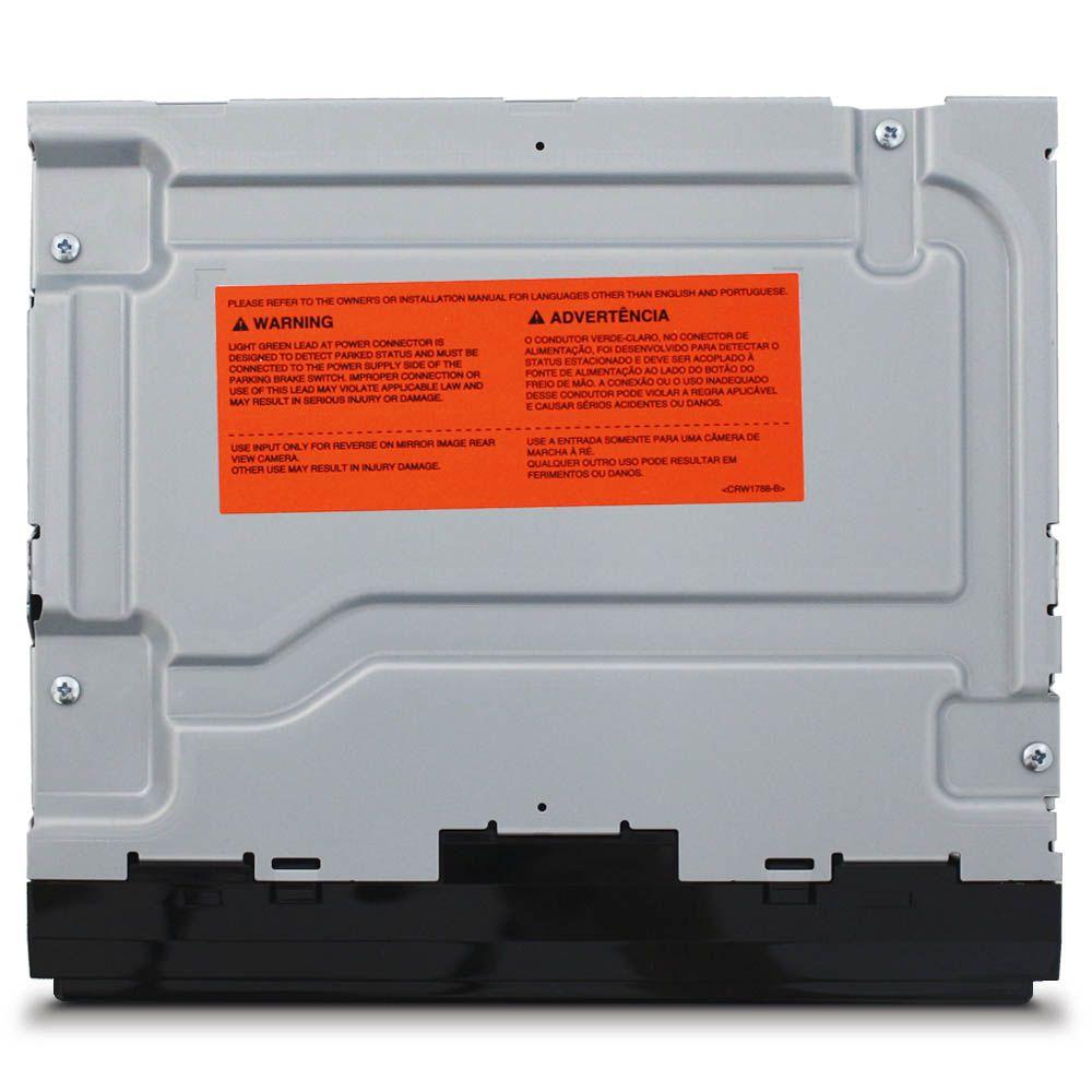 Mp5 Player 2 Din Tela 6.2 Pioneer MVH-A208VBT Bluetooth