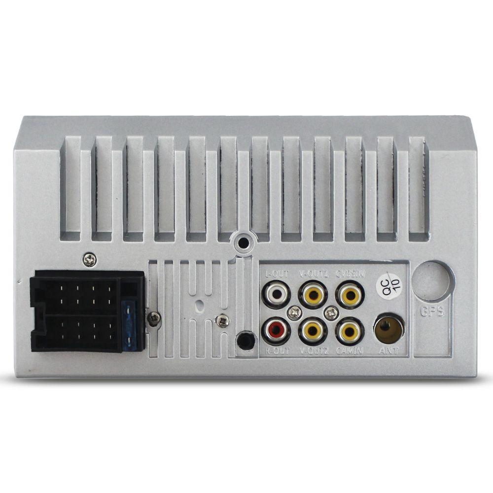 Mp5 Player Automotivo 2 Din 7 Polegadas H-Tech HT-3019 Bluetooth Espelhamento Android Ios Radio Fm Comando Som Volante