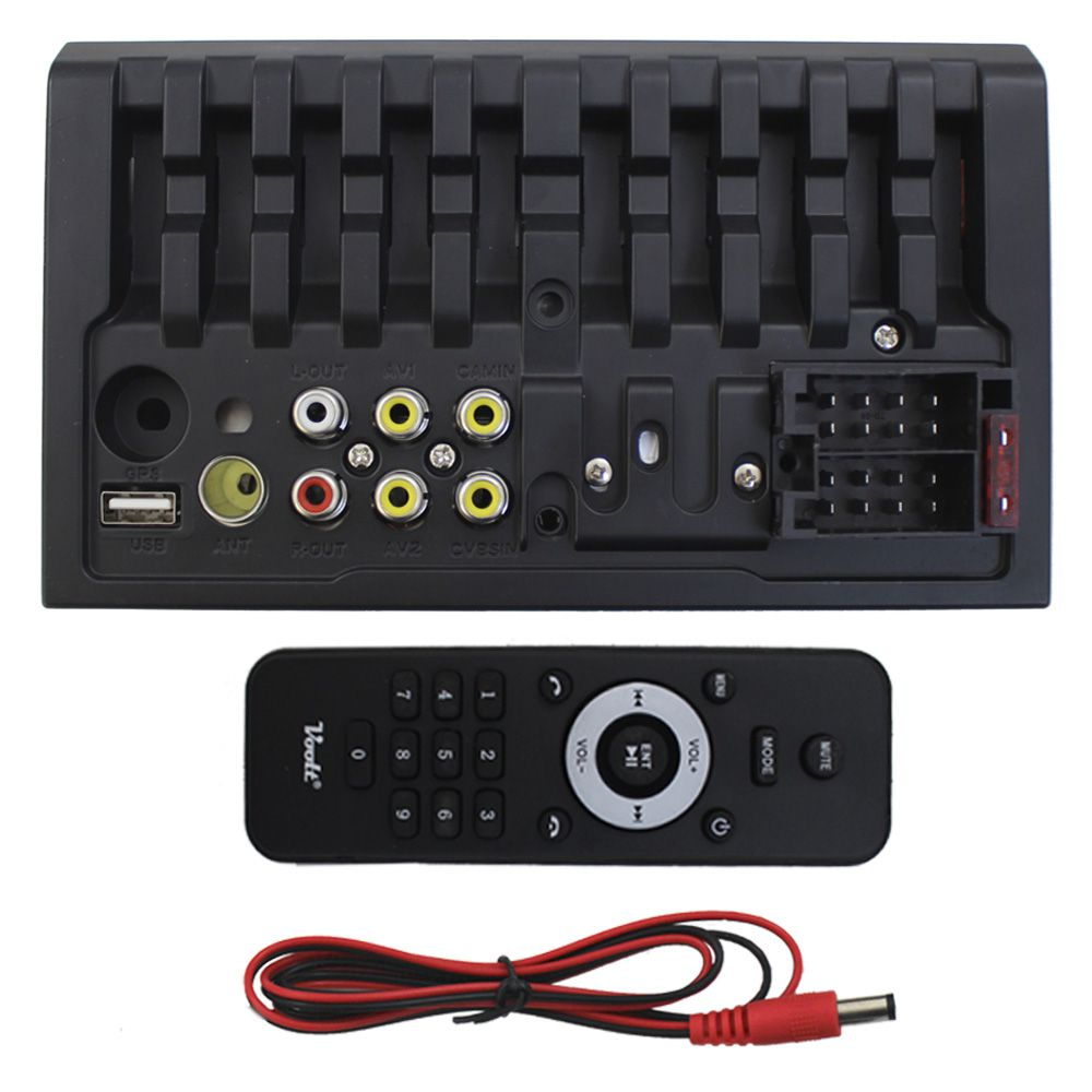 Mp5 Player Automotivo 2 Din Tela 7 Pol Voolt Bluetooth