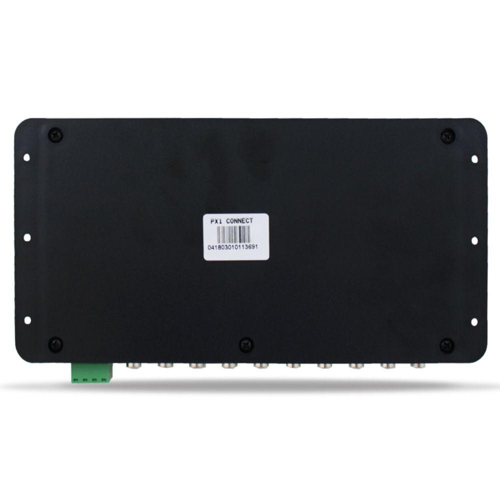 Processador Audio Automotivo Expert PX-1 Connect 4 Canais Digital Bluetooth Crossover Equalizador Gain Delay Phase