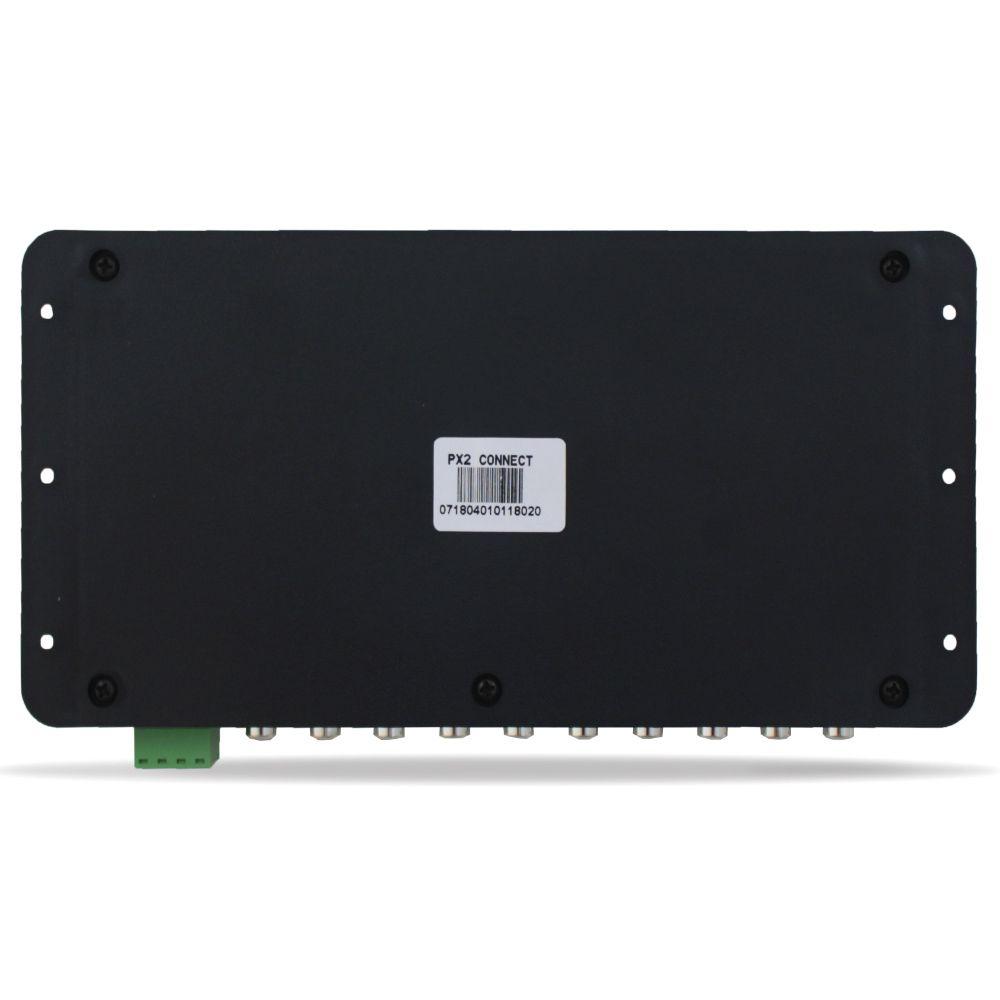 Processador Audio Automotivo Expert PX-2 Connect 6 Canais Digital Bluetooth Crossover Equalizador Gain Delay