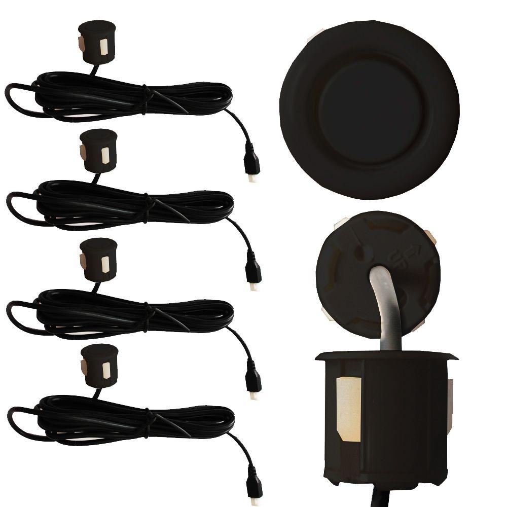 Sensor Estacionamento Ré 4 Pontos Ray X Traseiro Display