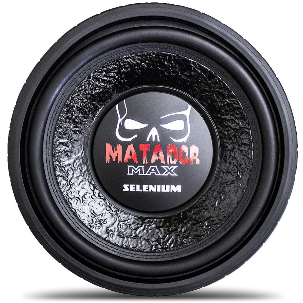 Subwoofer 12'' Matador Max 12sw12a 800 Wrms Jbl Selenium