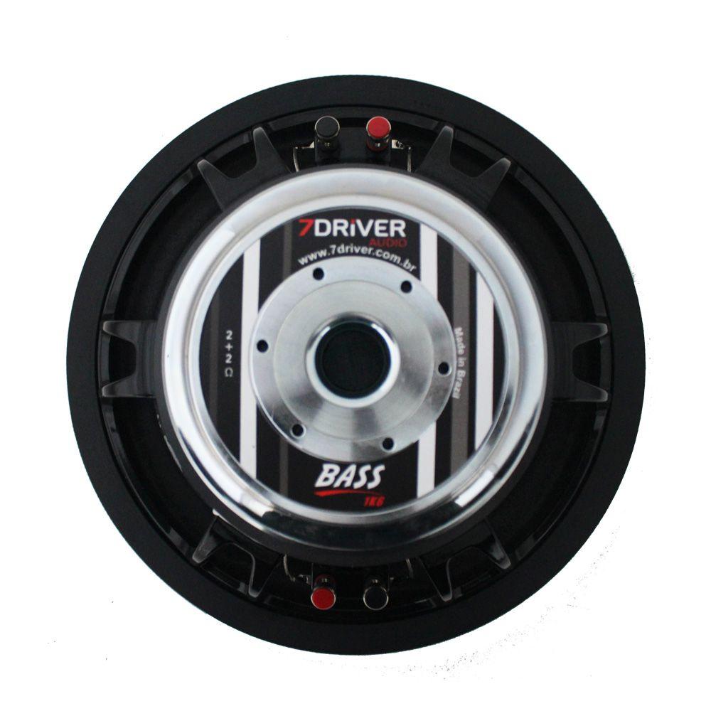 Subwoofer 12 Polegadas 7 Driver 800 Rms 12-BASS1K6 1600w