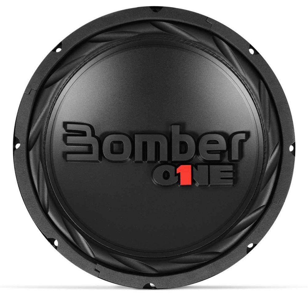 Subwoofer 12 Polegadas Bomber 200w Rms One 4 Ohms 4+4 Bobina Simples Dupla 400w Pico Peça
