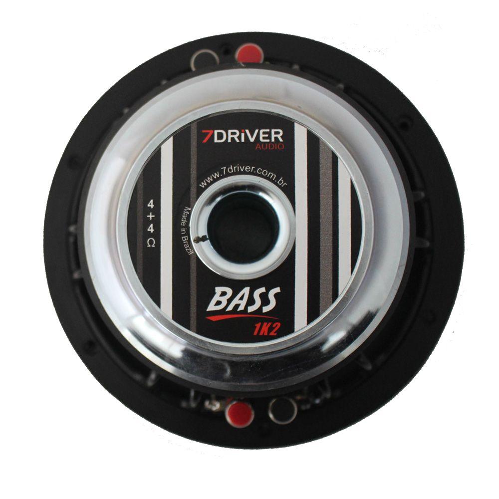 Subwoofer 8 Polegadas 7 Driver 600 Rms 8-BASS1K2 1200w