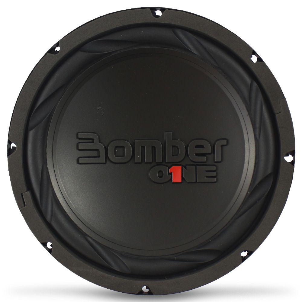 Subwoofer 8 Polegadas Bomber 150w Rms One 4 Ohms Bobina Simples 300w Pico Peça
