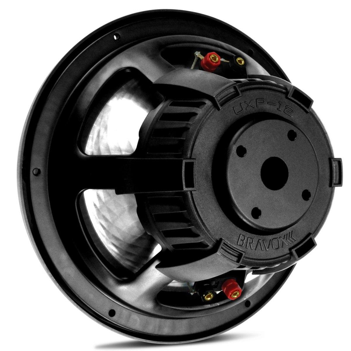Subwoofer Bravox Uxp 12´ 500 wrms 4+4 Ohms