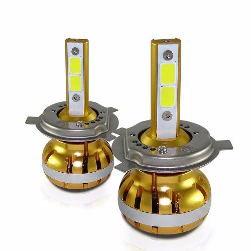 Kit Lampada Farol Super Led H4 6400 Lumens 3 em 1 Ray X