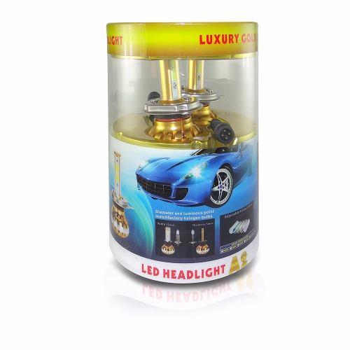 Kit Lampada Farol Super Led Mono 6400 Lumens 3 em 1 Ray X