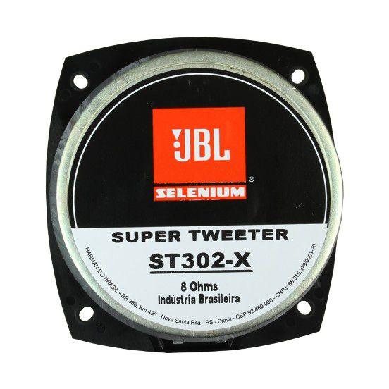 Super Tweeter Jbl Selenium ST-302X 125w Rms 8 Ohms Fenólico Original Profissional 250w Pico Peça