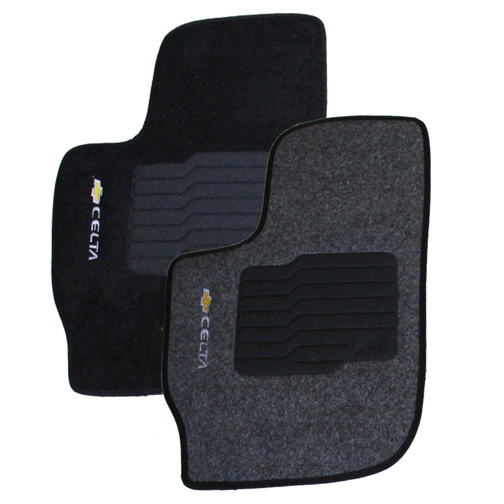 Tapete Carpete Corsa 2002 em diante 5 peças Ecotap Eloin