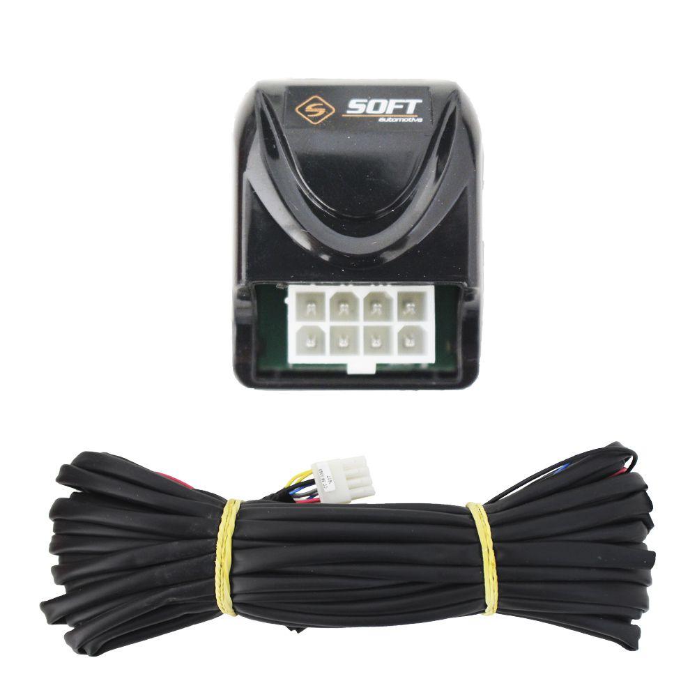 Trava Elétrica Clio 2014 2015 2016 2017 4 Portas Mono Soft Original 4P