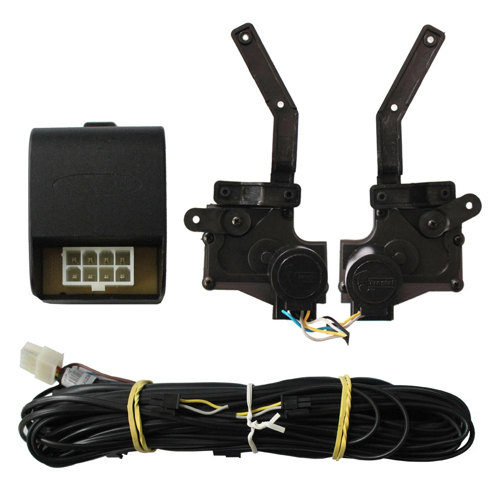 Trava Elétrica Hr 100 2 Portas Tragial Original Mono