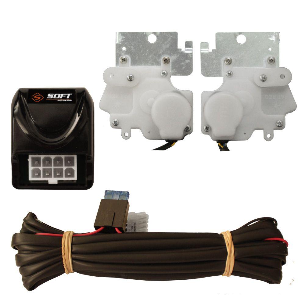 Trava Elétrica Soft Gol G2 G3 2 portas mono comando
