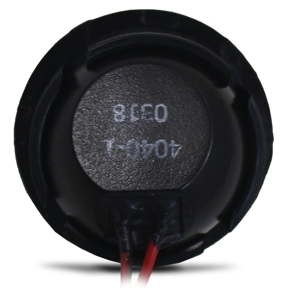 Tweeter de Painel Bravox 30w Rms Neo Point 4 Ohms Neodímio Capacitor Resistor 60w Pico Par Mini