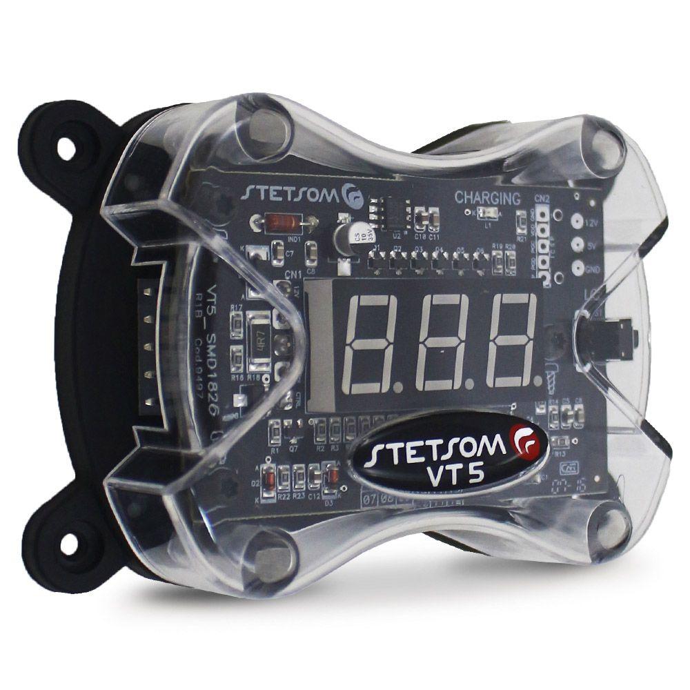 Voltímetro Stetsom Digital VT5 Mede Tensão 30v a 390v