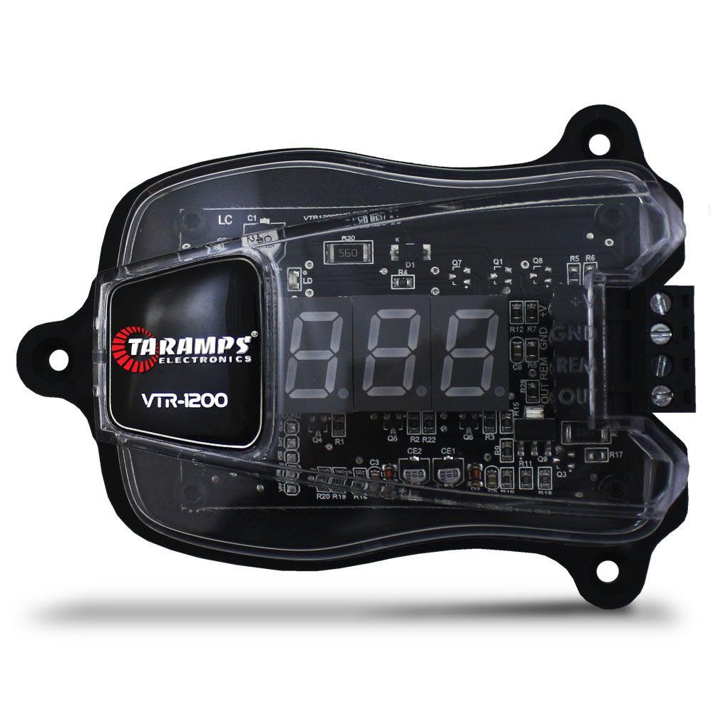 Voltímetro Taramps Digital Automotivo VTR-1200 Mede Tensão 10,2v a 27v Compacto