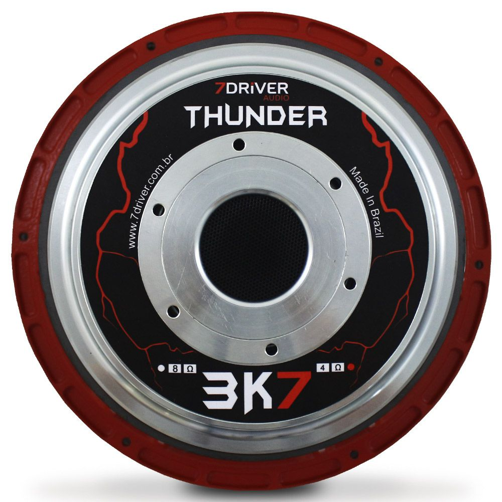 Woofer 12 Polegadas 7 Driver 1850 Rms 12-Thunder3K7 3700w